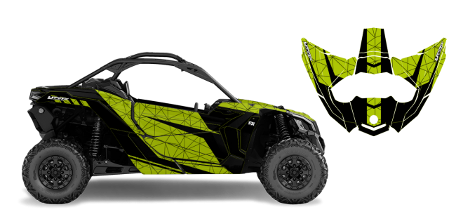 2017 Can Am Maverick 4 Seater >> Minerva Custom Design for Can Am MAVERICK X3 2DR 2017 AND UP - 52238